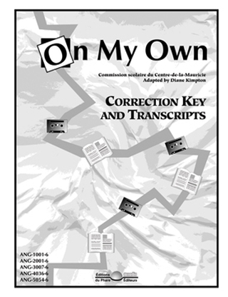 On My Own - Correction key and transcripts