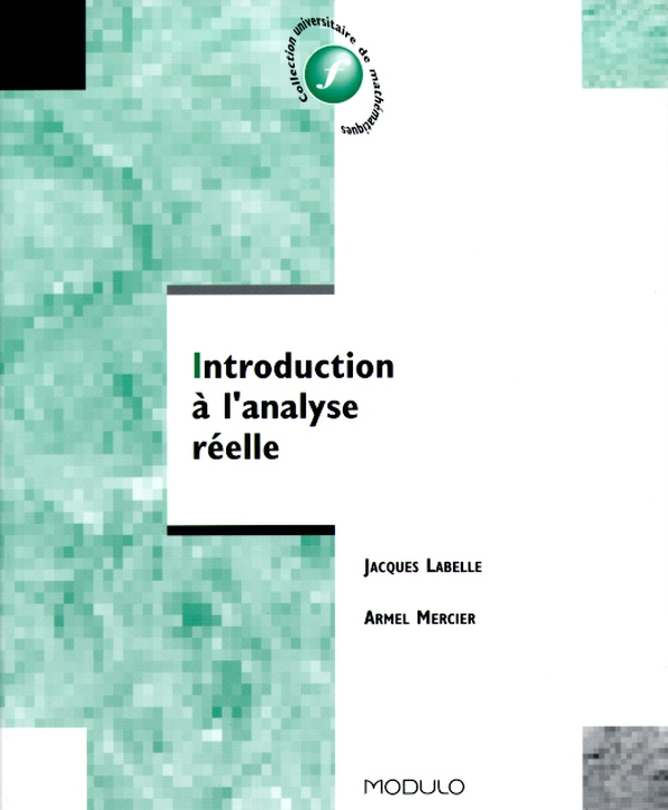 Introduction à l'analyse réelle