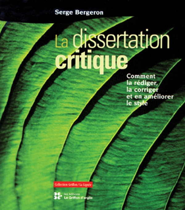Dissertation critique (La)