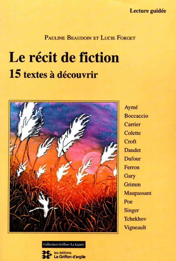 Le récit de fiction
